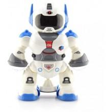 Jucarie interactiva robot dansator cu muzica, lumini, miscari, pentru copii